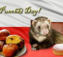 Punchki Day Ferret by jkartlife