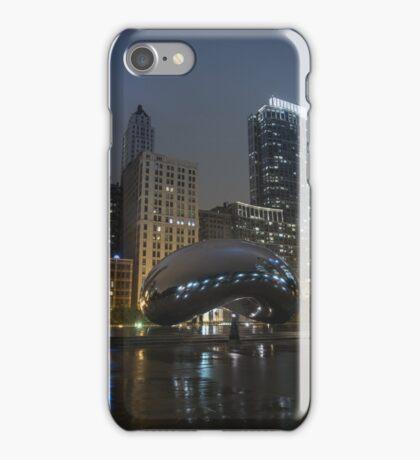 Chicago, Illinois - Bean iPhone Case/Skin