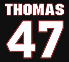 NFL Player Johnny Thomas fortyseven 47 T-Shirt
