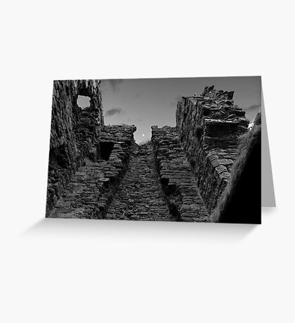 Unique Shot of a Tower in Kirkcaldy Greeting Card