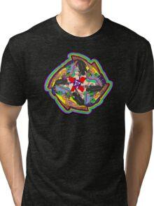 Spanish Mandala Tri-blend T-Shirt