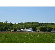 Amish Homestead in Holmes County, Ohio Photographic Print