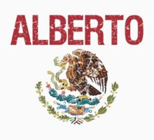 Alberto Surname Mexican Kids Clothes