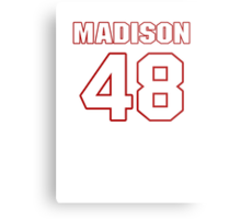 NFL Player Ross Madison fortyeight 48 Metal Print