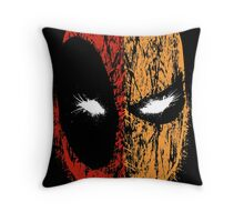 Deadpool/Deathstroke Throw Pillow