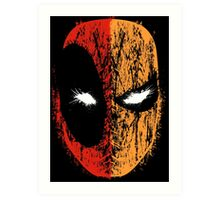 Deadpool/Deathstroke Art Print