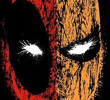 Deadpool/Deathstroke by TobinHood