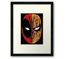 Deadpool/Deathstroke Framed Print