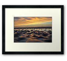 Tidal Pools at Sunrise Framed Print
