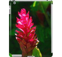 Alpinia flower iPad Case/Skin