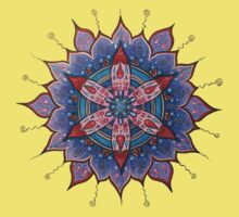 Mandala : Red Heart Passion Kids Clothes