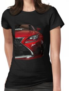 Lexus IS350 Rocket Bunny Womens Fitted T-Shirt