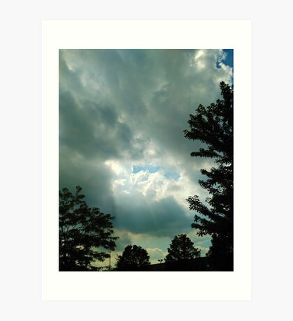 After the Storm Photo Art Print
