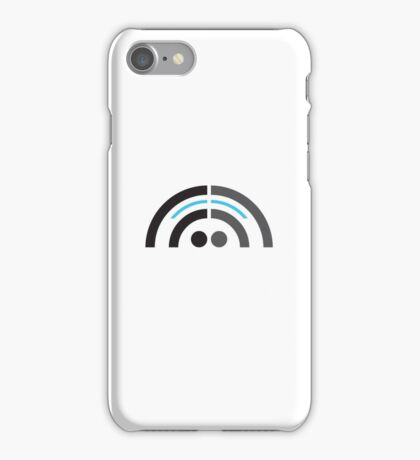 Sound Guy with short hair iPhone Case/Skin