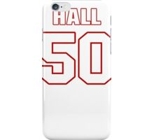 NFL Player Alex Hall fifty 50 iPhone Case/Skin