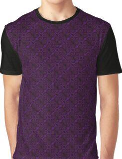 Purple Swirl by Julie Everhart Graphic T-Shirt