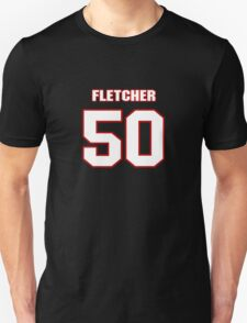 NFL Player Dane Fletcher fifty 50 T-Shirt