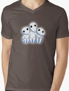 Tree Spirit Friends- Mononoke Mens V-Neck T-Shirt