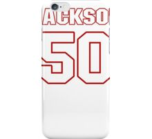 NFL Player Rob Jackson fifty 50 iPhone Case/Skin