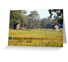 Life on the land Greeting Card
