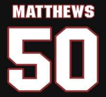 NFL Player Casey Matthews fifty 50 by imsport