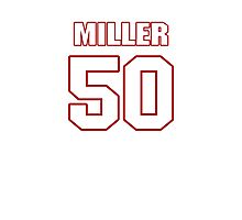 NFL Player Gabe Miller fifty 50 Photographic Print