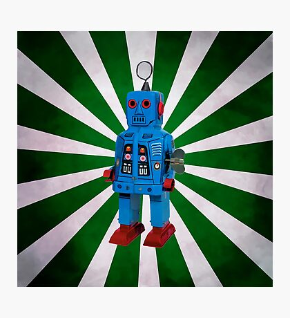 Starburst Robot Photographic Print