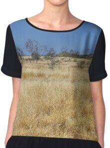 Northern Territory Landscape 23 Chiffon Top