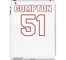 NFL Player Will Compton fiftyone 51 iPad Case/Skin