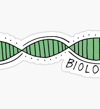 Biology DNA Sticker