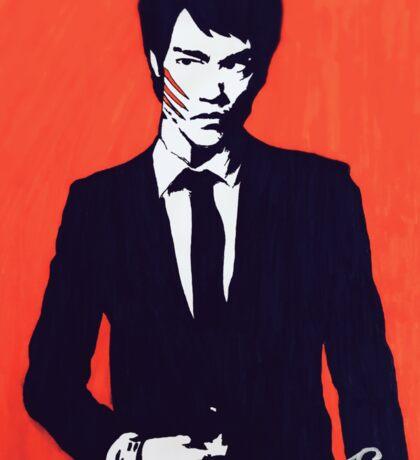 Bruce Lee: The Dragon Sticker