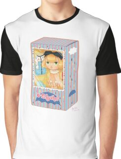 Blythe Playful Raindrops Graphic T-Shirt