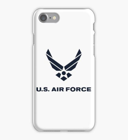 United States Air Force, US Air Force, Complete Logo iPhone Case/Skin