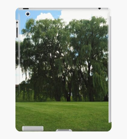 Weeping Willow Trees Photo iPad Case/Skin