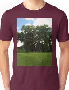Weeping Willow Trees Photo Unisex T-Shirt