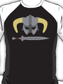 Iron helmet & imperial sword T-Shirt