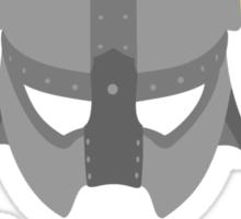 Iron helmet & imperial sword Sticker