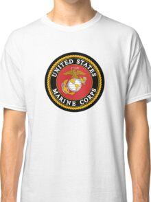 United States Marine Corps, US Marines, USMC, Logo Classic T-Shirt