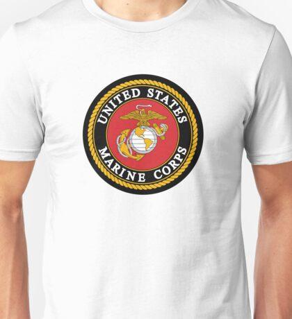 United States Marine Corps, US Marines, USMC, Logo Unisex T-Shirt
