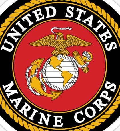 United States Marine Corps, US Marines, USMC, Logo Sticker
