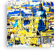 Basilica and the Eye - in colour  Canvas Print
