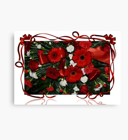 Holiday Bouquet Canvas Print