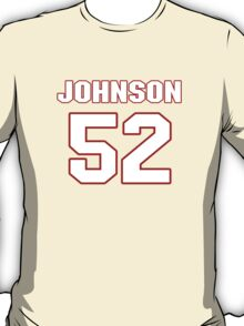 NFL Player James-Michael Johnson fiftytwo 52 T-Shirt