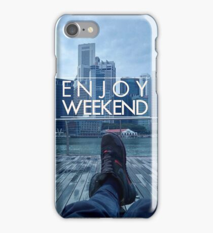 Enjoy Singapore! iPhone Case/Skin