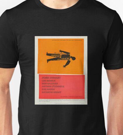 Anatomy of a Murder (1959) - Vintage Movie Poster Unisex T-Shirt