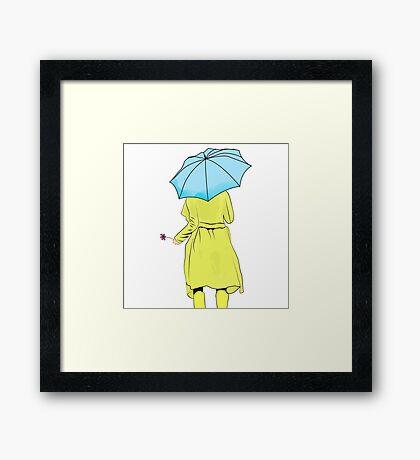Introvert2 Framed Print