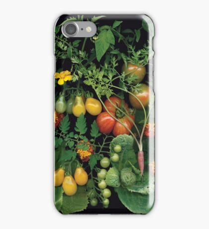 My First Harvest - Community Garden Plot iPhone Case/Skin