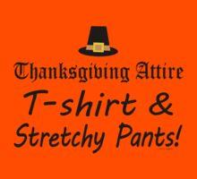 Funny Thanksgiving Dinner Attire  by ArtVixen