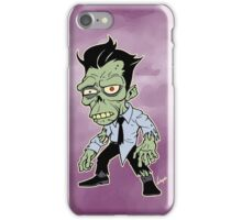 Disappointed Zombie version 2 iPhone Case/Skin