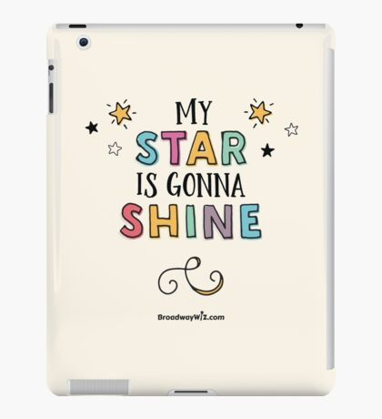 Star is Gonna Shine iPad Case/Skin